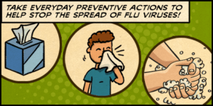 Healthy Habits Prevent Flu