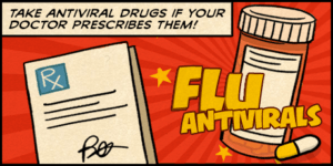 Antiviral Treats Flu