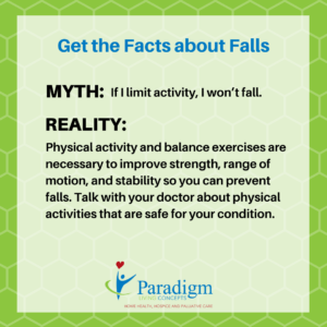Prevent Falls Increase Activity