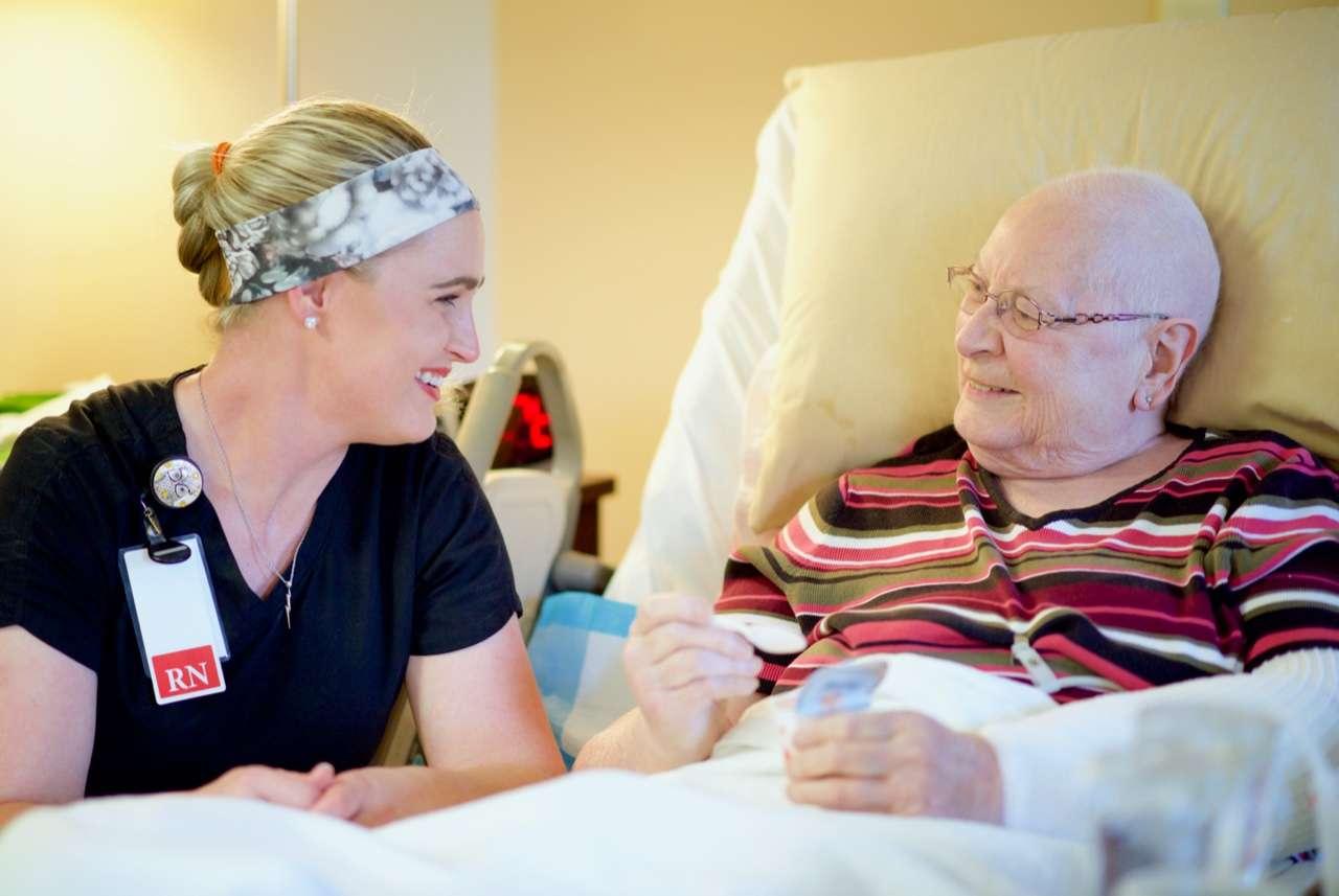 hospice caregiving team